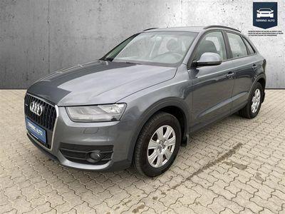 brugt Audi Q3 2,0 TFSI quattro 170HK Van - Varebil - koksmetal