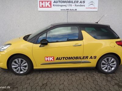 brugt Citroën DS3 1,6 e-HDi Style 90HK 3d