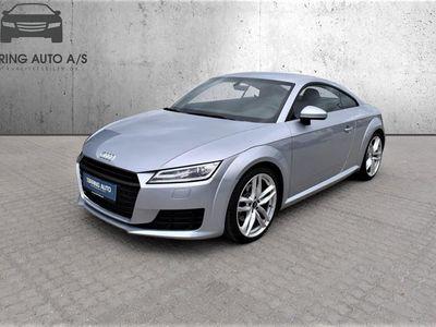 brugt Audi TT 1,8 TFSI S Tronic 180HK 2d 7g Aut. - Personbil - Sølvmetal
