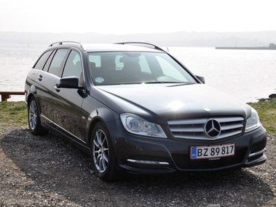 brugt Mercedes C220 2,0 CDI BlueEfficiency 170HK 7g Aut.