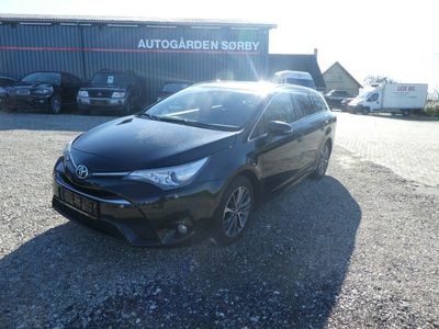 brugt Toyota Avensis 1,8 VVT-i T2 Premium TS MDS