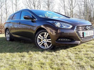 brugt Hyundai i40 CRDi 5 dørs Stationcar AUT Premium 1,7
