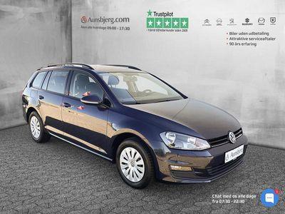 brugt VW Golf Variant 1,6 TDI BMT Trendline 110HK Stc