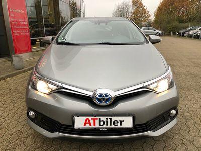 brugt Toyota Auris Hybrid 1,8 B/EL Comfort Safety Sense 136HK 5d Aut. A++