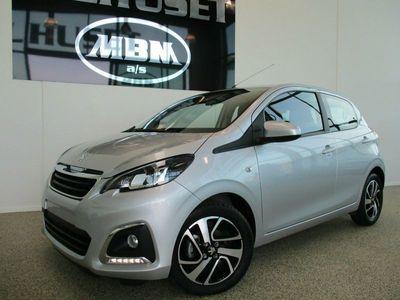 used Peugeot 108 1,0 e-VTi 69 More+