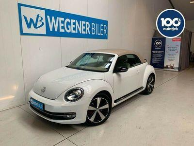 brugt VW Beetle The2,0 TSi 210 Sport Cabriolet