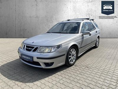 brugt Saab 9-5 2,3TS Aero Estate aut. 250HK Stc - Personbil - Sølvmetal