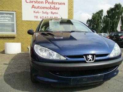 brugt Peugeot 206 1,4 HDI SR 70HK 3d