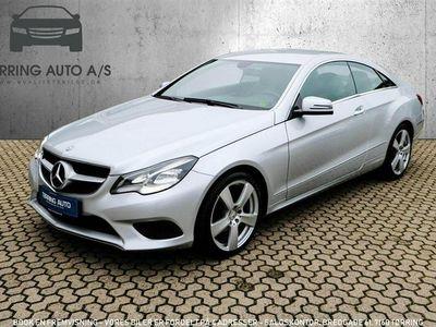 brugt Mercedes E200 0 184HK 2d 6g - Personbil - sølvmetal