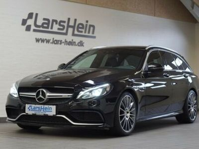 brugt Mercedes C63 AMG AMG stc. aut.