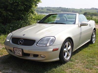 brugt Mercedes SLK320 3,2 218HK Cabr. 6g