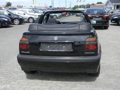 brugt VW Golf Cabriolet 2,0 Avantgarde 115HK