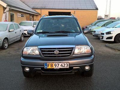 brugt Suzuki Grand Vitara 2,0 TD Luksus 4x4 109HK Van