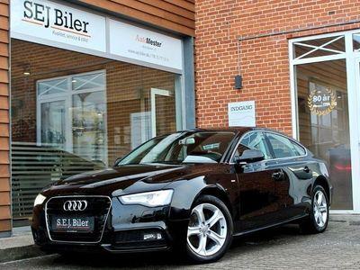 brugt Audi A5 Sportback 2,0 TDi Multitr. 150HK aut 5d