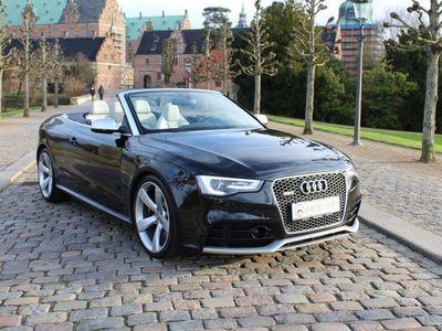 brugt Audi RS5 4,2 FSi Cabriolet quattro S-tr.