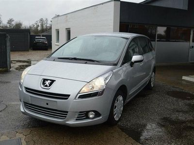 brugt Peugeot 5008 1,6 HDI Premium 112HK 6g - Personbil - Sølvmetal