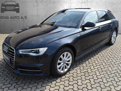 brugt Audi A6 Avant 3,0 TDI S Tronic 218HK Stc 7g Aut. - Personbil - Mørkblåmetal