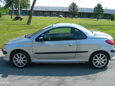 brugt Peugeot 206 CC 2,0 138HK Cabr.