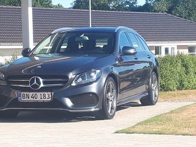 brugt Mercedes C220 AMG Line St.Car 7G-TRONIC PLUS