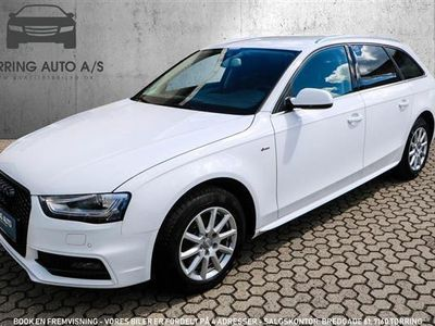 usado Audi A4 Avant 2,0 TDI Multitr. 150HK Stc Trinl. Gear - Personbil - hvid