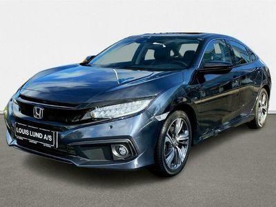 brugt Honda Civic 1,5 VTEC Turbo Executive Navi CVT 182HK 6g Aut. A