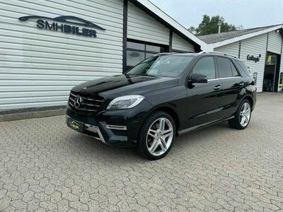 brugt Mercedes ML350 3,0 BlueTEC AMG Line aut. 4Matic Van