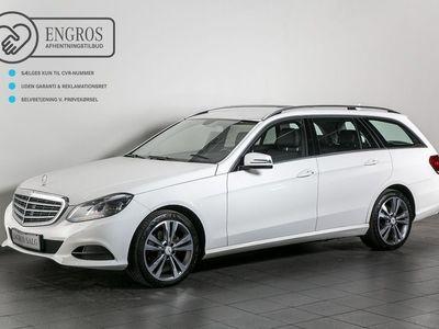 begagnad Mercedes E200 2 CDi stc. aut.
