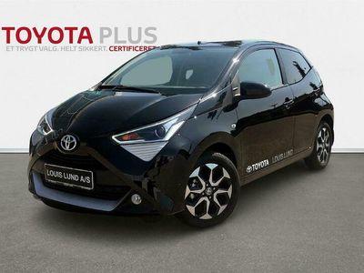 brugt Toyota Aygo 1,0 VVT-I X-Press X-Shift 72HK 5d Aut. A+