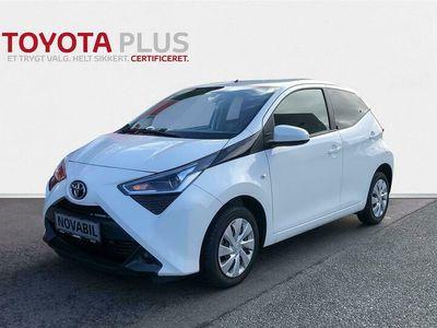 brugt Toyota Aygo 1,0 VVT-I X-pression 72HK 5d A+++