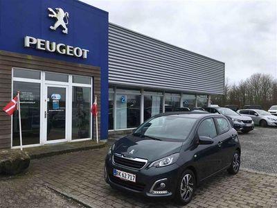 brugt Peugeot 108 1,0 e-Vti More+ Metal 69HK 5d