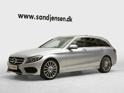 usata Mercedes C220 d 2,2 AMG Line stc. aut.