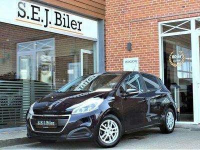 begagnad Peugeot 208 1,6 BlueHDi Active+ 100HK 5d