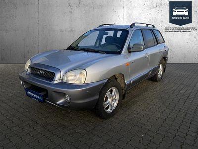 brugt Hyundai Santa Fe 2,0 TDI 4WD 112HK Van - Varebil - Sølv