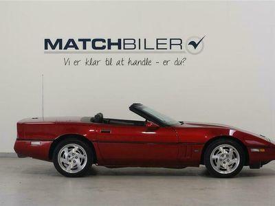 brugt Chevrolet Corvette Convertible 5,7 248HK Cabr. Aut.