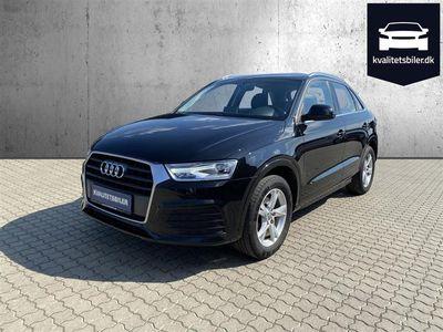 brugt Audi Q3 2,0 TDI Sport 150HK 5d 6g - Personbil - Sortmetal