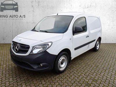 brugt Mercedes Citan 109 1,5 CDI A2 90HK Van - Varebil - hvid
