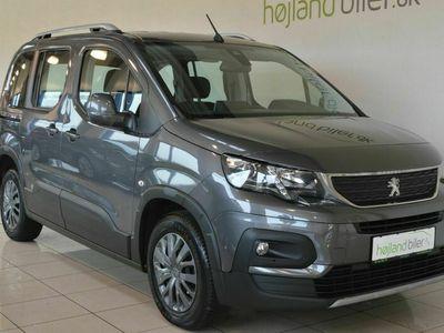brugt Peugeot Rifter 1,5 BlueHDi 100 L1 Allure