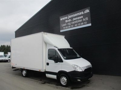 brugt Iveco Daily 35S17 ALUKASSE/LIFT 3,0 D 170HK Ladv./Chas. 2012