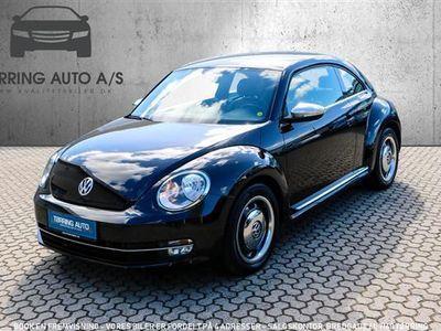 brugt VW Beetle 1,2 TSI BMT Life 105HK 3d 6g - Personbil - sort