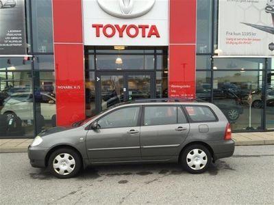 brugt Toyota Corolla 1,6 Linea Terra 110HK Stc