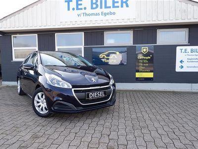 brugt Peugeot 208 1,6 Blue e-HDI Allure 100HK 5d
