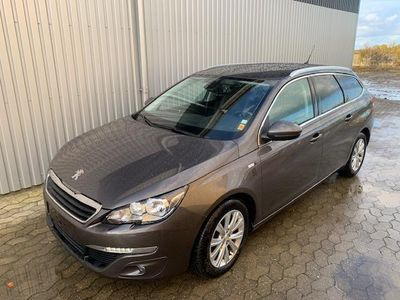 brugt Peugeot 308 SW 2,0 Blue e-HDI Style 150HK Stc 6g
