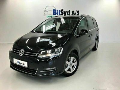 brugt VW Sharan 2,0 TDi 140 Highline DSG BMT 7prs