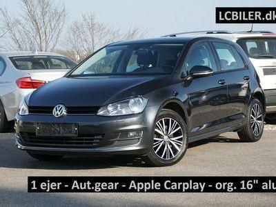 brugt VW Golf VII 1,4 TSi 125 Allstar DSG BMT