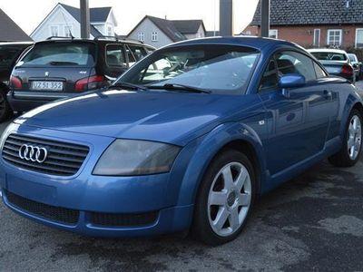 gebraucht Audi TT 1,8 Coupé 180HK 2d - Personbil - blå