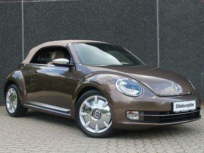 brugt VW Beetle The1,4 TSi 160 Design Cabriolet DSG