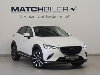 used Mazda CX-3 2,0 Skyactiv-G Optimum 120HK 5d 6g