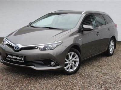 brugt Toyota Auris Touring Sports 1,8 B/EL H2 Comfort Safety Sense 136HK Stc Aut.