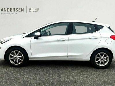 brugt Ford Fiesta Van 1,0 EcoBoost Hybrid Titanium 125HK 5d