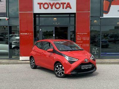 brugt Toyota Aygo 1,0 VVT-I X-play + Go-pakke 72HK 5d A+++